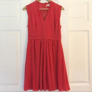 Rebecca Taylor silk V-neck dress EUC